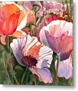 Poppy Madness Metal Print