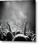 Popular Music Concert Metal Print