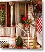 Porch - Americana Metal Print