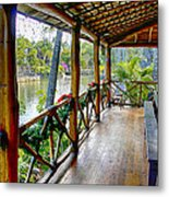 Porch Cultural Center Hawaii Metal Print
