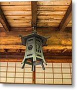 Porch Lantern Metal Print