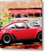 Porsche Series 01 Metal Print