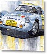 Porsche 550 Coupe 154 Carrera Panamericana 1953 Metal Print by Yuriy  Shevchuk