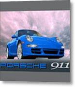 Porsche 911 No 1 Metal Print