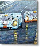 Porsche 917 K Gulf Spa Francorchamps 1971 Metal Print