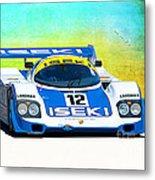 Porsche 956c - 118 Metal Print