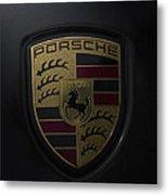 Porsche Logo Metal Print