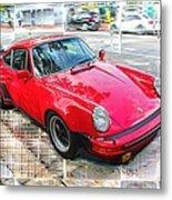 Porsche Series 02 Metal Print