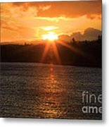 Port Angeles Sunrise Metal Print