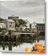 Port Clyde On The Coast Of Maine Metal Print