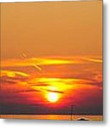 Port Elgin Sunset Metal Print by BandC  Photography