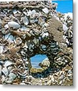 Port Hole Window Metal Print