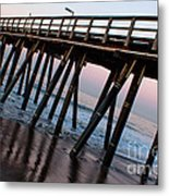Port Hueneme Pier Askew Metal Print