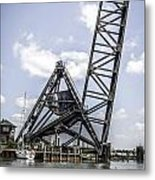 Port Huron Bridge Metal Print
