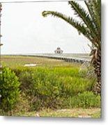 Port Lavaca Migratory Bird Stopover Metal Print