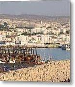 Port Of Agadir Morocco Metal Print