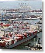 Port Of Long Beach Metal Print