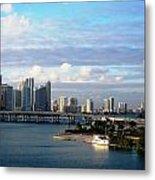 Port Of Miami 3 Metal Print