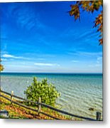 Port Sanilac Scenic Turnout Metal Print