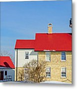 Port Washington Light Station  Metal Print