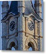 Port Washinton Court House Steeple 1  Metal Print