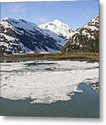 Portage Lake Panorama Metal Print