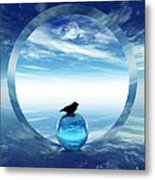 Portal To Peace Metal Print
