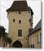 Porte Du Croux - Nevers Metal Print