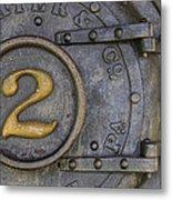 Porter And Company Steam Boiler Metal Print