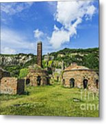 Porth Wen Brickworks V2 Metal Print
