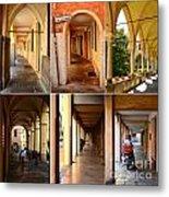 Porticos Of Padua No 4 Metal Print