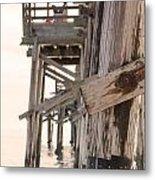 Portion Of The Pier Balboa Metal Print