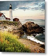 Portland Head Light - Cape Elizabeth Metal Print