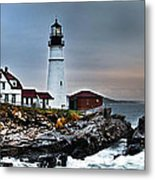 Portland Head Lighthouse 1 Metal Print