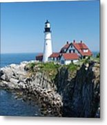 Portland Lighthouse 2 Metal Print