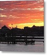 Portland Main Harbor Metal Print