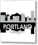 Portland Or 4 Metal Print