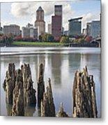 Portland Oregon Waterfront Metal Print