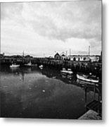 Portpatrick Harbour Scotland Uk Metal Print by Joe Fox