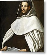 Portrait Of A Carmelite Metal Print