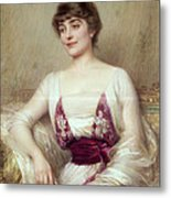 Portrait Of A Countess Metal Print