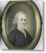 Portrait Of A Man, Mayby A Member Of The Collot Descury Or Metal Print