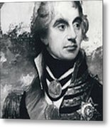 �portrait Of A Naval Officer� Sketch Discovered To Be Of Metal Print