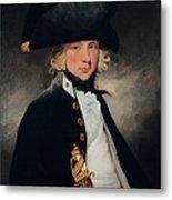 Portrait Of A Young Midshipman, C.1796 Metal Print