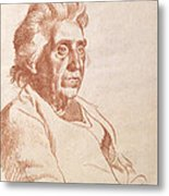 Portrait Of An Old Lady, 1938 Metal Print