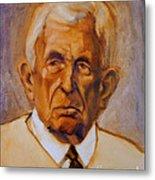 Portrait Of An Older Man Metal Print