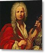 Portrait Of Antonio Vivaldi Metal Print