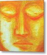 Portrait Of Buddha Metal Print