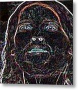 Portrait Of Christ Metal Print