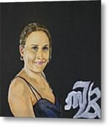 Portrait Of Countess Avital  Metal Print